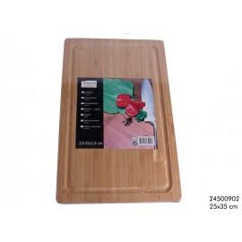 Snijplank hout 25x35x1.8