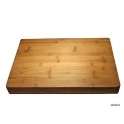 Snijplank bamboe 45x30x4 cm