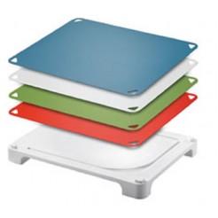 Leifheit Snijplank Varioboard 4 kleuren